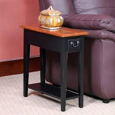 small chairside table. Home And Furniture: Romantic Small Chairside Table At End With Storage Manchester Wood