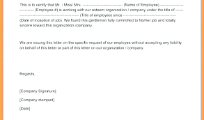 Sample Copy Of Certificate Of Employment Vbhotels Co
