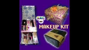 how to make makeup box from cake box cardboard makeup kit diy makeup storage diy makeup kit
