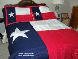 Texas Flag forter Bedding King