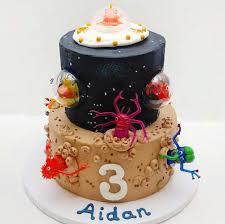 Space Birthday Cake Designs Ultimate Monster Birthday Cake Inspiration Board 13