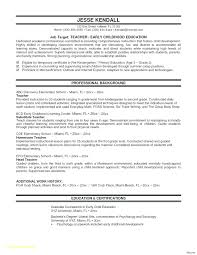 Teaching Resumes Resume Resume Template Education Professional Teaching