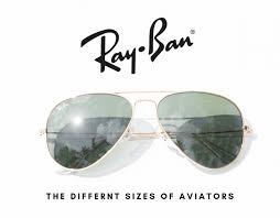 Rb3025 Size Chart Ray Ban Aviator Sizes Ray Ban Aviator Lens Sizes