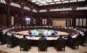 roundtable meeting of leaders at belt and road international forum