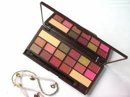 makeup revolution i heart makeup i heart chocolate palette rose gold review