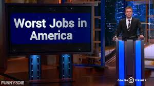 worst job videos articles pictures funny or die moshe kasher michelle wolf nikki glaser worst jobs in america midnight