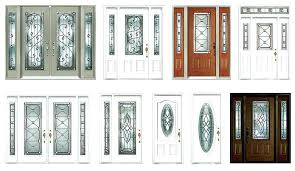 window inserts for door interior decor ideas glass doors stained recent garage