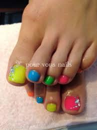 ネオンカラーフットネイル Pourvous Nails ブログ
