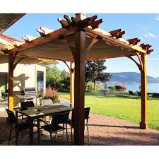 retractable pergola canopy. BZ810WRC 8-ft X 10-ft Breeze Pergola With Retractable Canopy