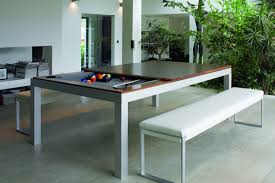 Pool And Dining Table Aramith Fusion Table Is A Pool Table Disquised As A Dining Table