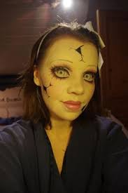 ed doll makeup tutorial creepy her eye makeup is fabulous might pair this with an alice in wonderland costume for a little tim burton esque flair