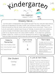 Teachers Newsletter Templates Student Newsletter Template Bootimar Co