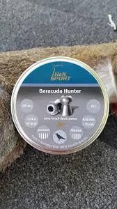 H N Baracuda Hunter 25 45 Fpe Vs Squirrel Pneumatic
