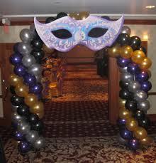 masquerade arch decorations