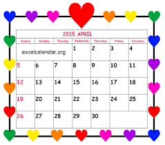 free printable 2015 monthly calendar with holidays april 2017 calendars for word excel pdf april 2017 calendar with
