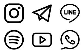 insram logo free social icons