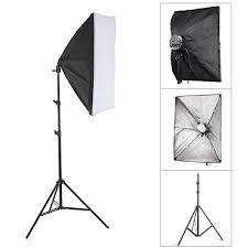 photo studio lighting softbox light kit 50 70cm light stand lazada ph