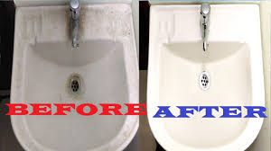 how to clean bathroom sink ceramic porcelain sink cleaning clean bathroom basin sink fast