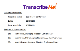 Transcript Formatting And Editing Styles With Transcribeme