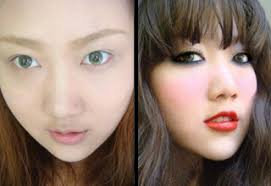 replay gallery asian before after makeup