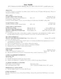 Cover Letter Athletic Director Athletic Trainer Cover Letter Resume