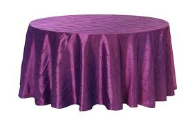 120 inch purple pintuck round tablecloth wedding tablecloths purple tablecloths