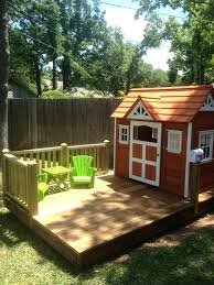 backyard clubhouse ideas 43 free diy playhouse plans that children