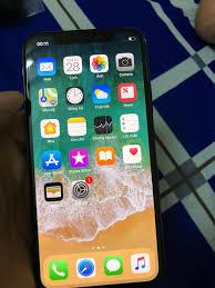 Bán - iPhone X 64G Gray imei đỏ