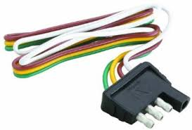 cheap trailer wiring 4 flat trailer wiring 4 flat deals on get quotations · attwood trailer wiring 4 way flat harness connector 12 inch plug