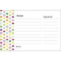 avery recipe card template free avery templates multi color design recipe cards on