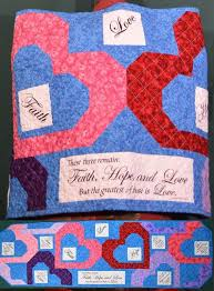 38 best PRAYER SHAWL QUILTS images on Pinterest | Prayer shawl ... & Faith Hope and Love Hearts Quilted Prayer by patchworkflamingo Adamdwight.com
