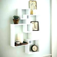 outstanding wall mounted display shelves shelving units for your home shelf unit white