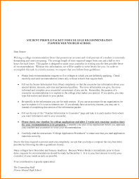 How To Write A Resume For Recommendation Letter