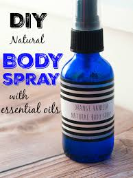 diy spray with essential oils two recipes including this one for orange vanilla
