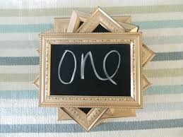 wedding reception table number frames bulk ikea gold silver or copper distressed chalkboard numbers decorating astounding