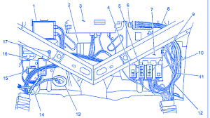 cadillac deville 1999 electrical circuit wiring diagram carfusebox 93 Cadillac DeVille Wiring-Diagram at 1993 Cadillac Eldorado Wiring Diagram