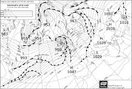 Surface Pressure Chart Analysis Issued At 0000 On Fri 9 Jan