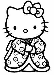 Hello Kitty Free To Color For Kids Hello Kitty Kids Coloring Pages