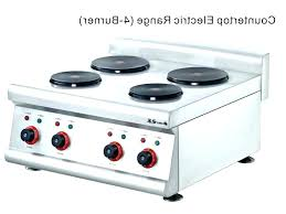 general electric countertop stove electric stove general