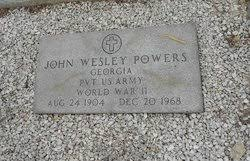 John Wesley Powers (1904-1968) - Find A Grave Memorial