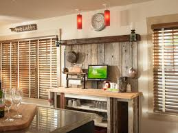Kitchen Coffee Station Reclaimed Wood Backsplash Panels Coffee Station Design With Oak