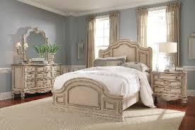 Empire Ii   Parchment Bedroom Set Schnadig Furniture.  Bed/dresser/mirror/nightstand
