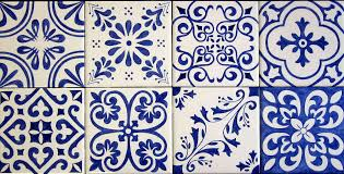 Blue And White Decorative Tiles