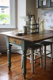 leg kitchen table vintage