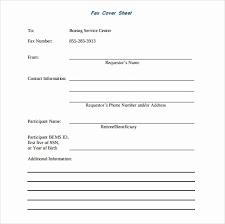 Personal Fax Cover Sheet 50 Personal Fax Cover Sheet Templates Culturatti