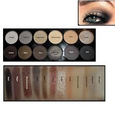 sleek eye shadow palette i divine 601 au naturel 13 2g อายชาโด วพาเล ทส สวยสดใสค ณภาพเท ยบเท าแบรนด ด ง
