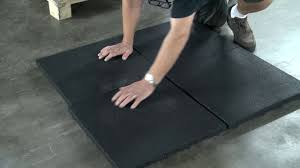 gym rubber tiles weightlifting impact tiles carpet tiles 1