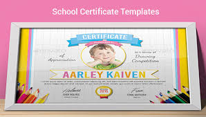 Free 40 School Certificate Templates In Samples Examples