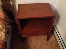 mt airy furniture j collection mid century vintage nightstand