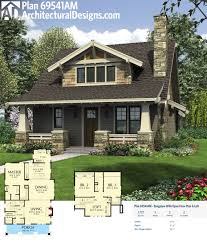 Prairie Style Home Plans Designs Plan 69541am Bungalow With Open Floor Plan Loft